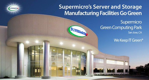 Supermicro supercharge their green credentials